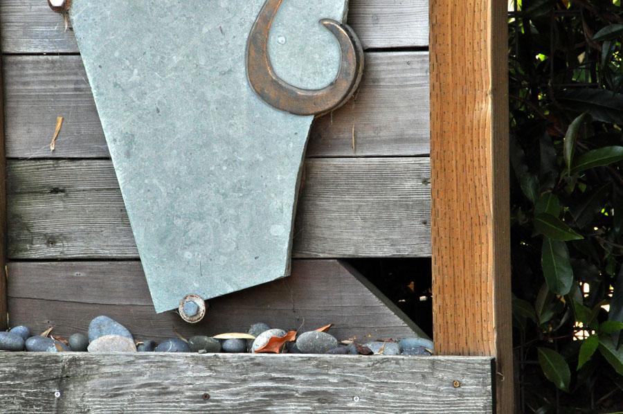 Garden Sculptures - slab detail
