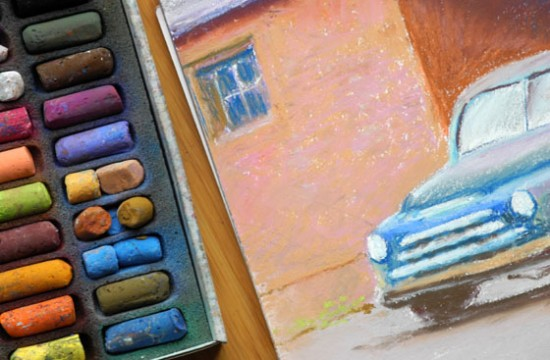 Image of Painting with Pastels